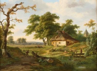 Am Dorfrand (1843)