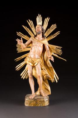 CHRISTUS MIT DER STRAHLENAUREOLE