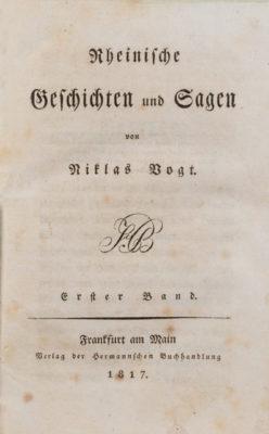 Konvolut zur Literatur und Mundart der Pfalz