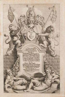 Topographia Palatinatus Rheni et Vicinarum Regionum, Das ist Beschreibung und Eigentliche Abbildung der Vornemsten Statte und Plätz der Untern Pfalz am Rhein (…)