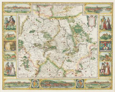 Palatinatus Rheni nova et accurata descriptio A.o 1630