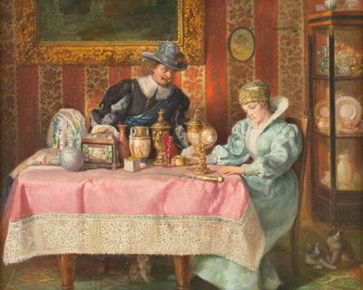 'Kostbares Erbgut' – Begutachtung der Kunstschätze im Salon