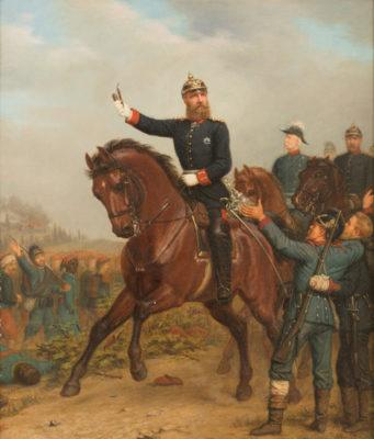 KAISER FRIEDRICH WILHELM III ZU PFERDE
