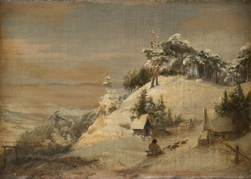 Paar Gemälde