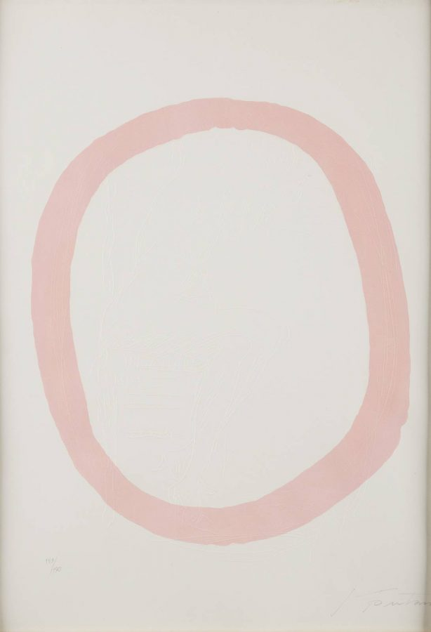 Nudo rosa (Pink oval with nude) (1967)