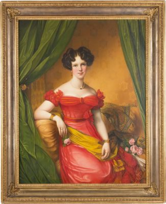 BILDNIS GABRIELE VON BÜLOW (1802 BERLIN – EBENDA 1887)