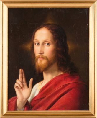 CHRISTUS MIT SEGENSGESTUS