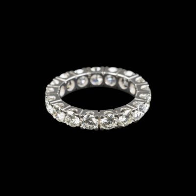 ETERNITY-RING MIT BRILLANTBESATZ