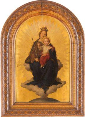 MARIA IN DEN WOLKEN