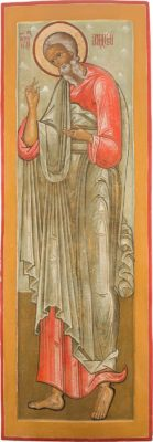 MONUMENTALE IKONOSTASEN-IKONE MIT DEM HEILIGEN APOSTEL ANDREAS