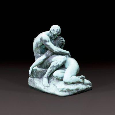 ADAM UND EVA, GROSSKULPTUR, 1898