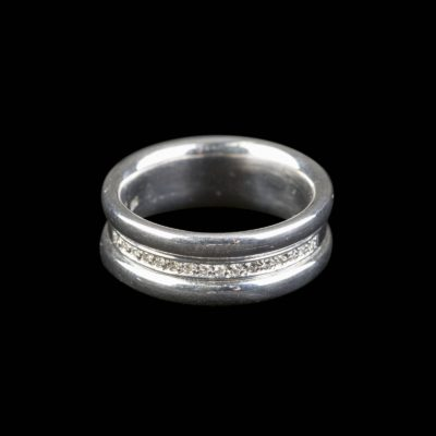 MODERNER BRILLANT-RING