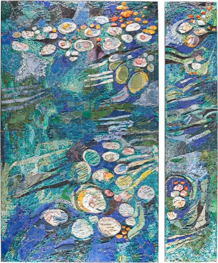 Mosaik 'Seerosenteich'