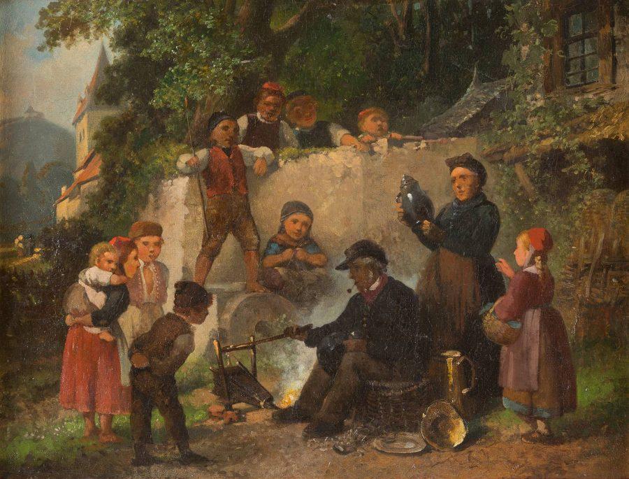 EIN KESSELFLICKER IN DER SCHWALM