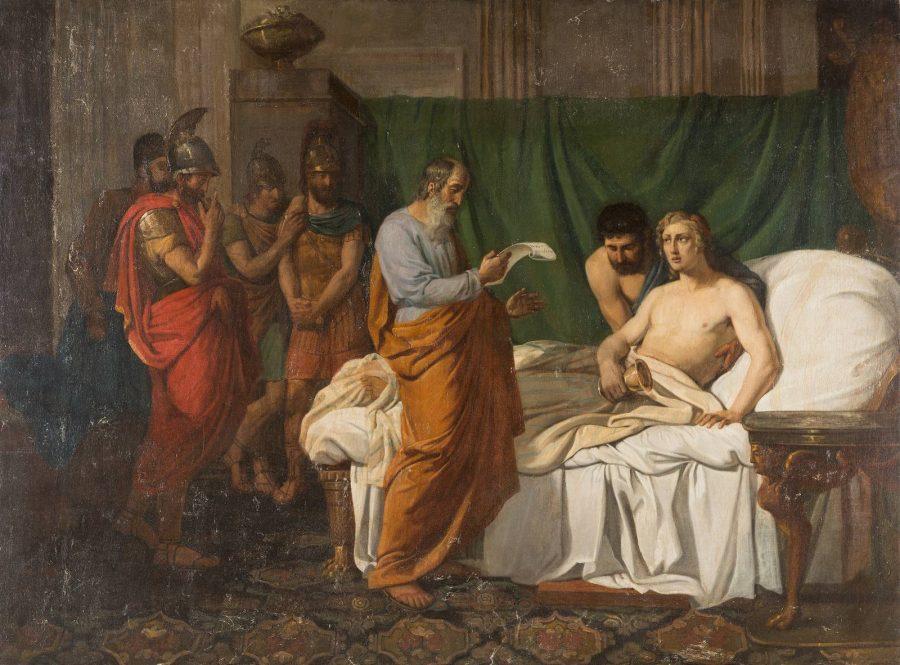 ALEXANDER DER GROSSE UND SEIN ARZT PHILIPPUS