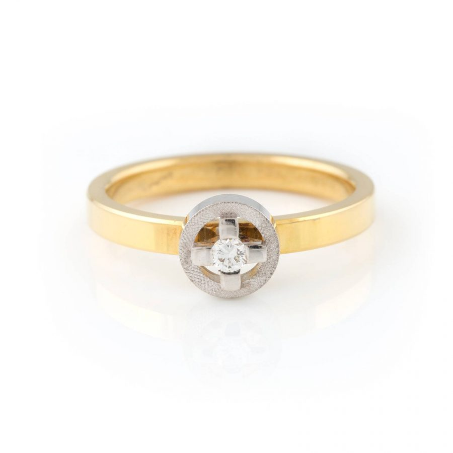 SOLITAIRE-RING 'NIESSING'