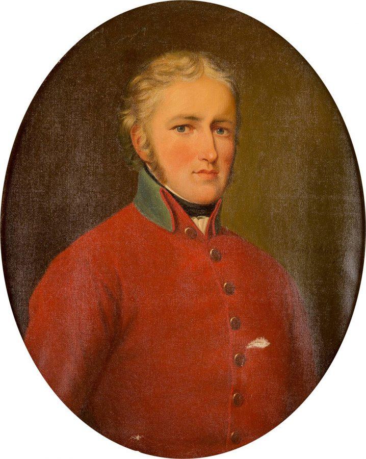 PORTRÄT DES CARL FRIEDRICH EHRENREICH VON SCHÖNBERG AUF MAXEN (1775-1813)