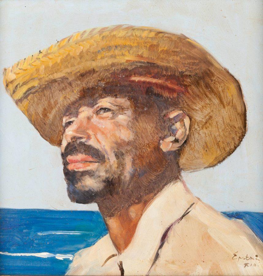 Portrait eines Fischers