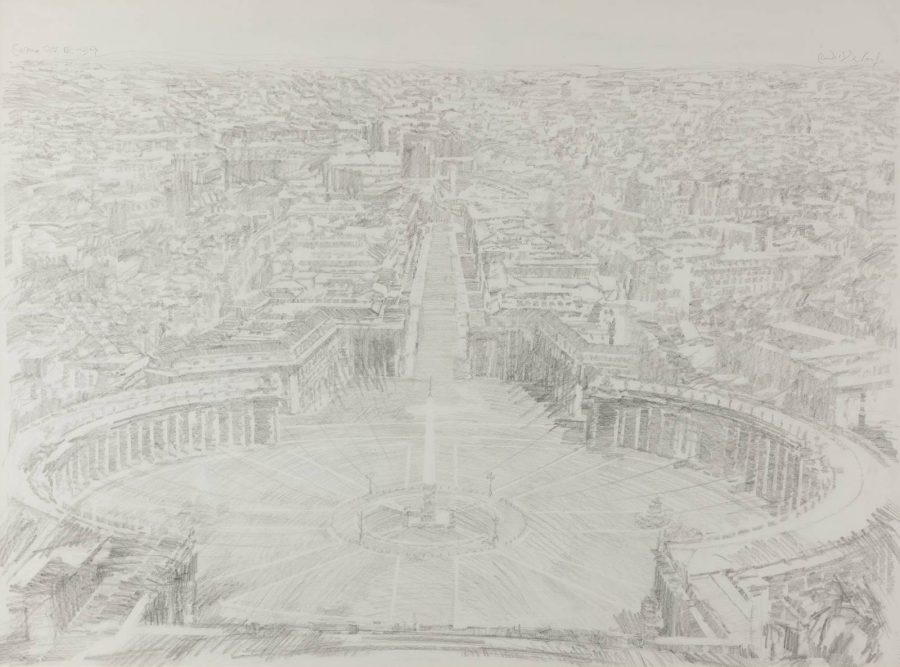 'Roma' – Blick über den Petersplatz