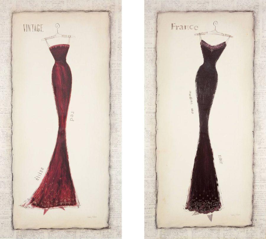 2 Arbeiten: Divine Silhouette und Vogue Silhouette