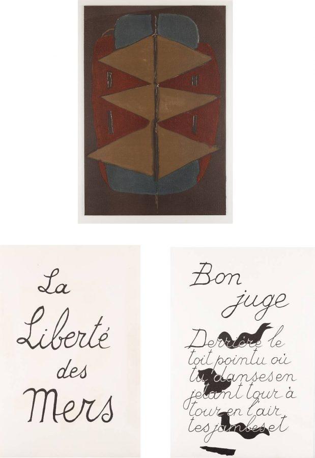 KONVOLUT AUS 'LA LIBERTÉ DES MERS' (1959)