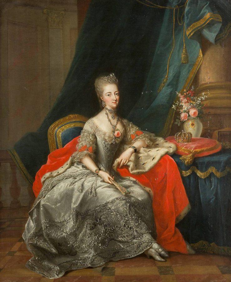 LANDGRÄFIN PHILIPPINE VON HESSEN-KASSEL, GEBORENE PRINZESSIN VON BRANDENBURG-SCHWEDT (1745-1800)