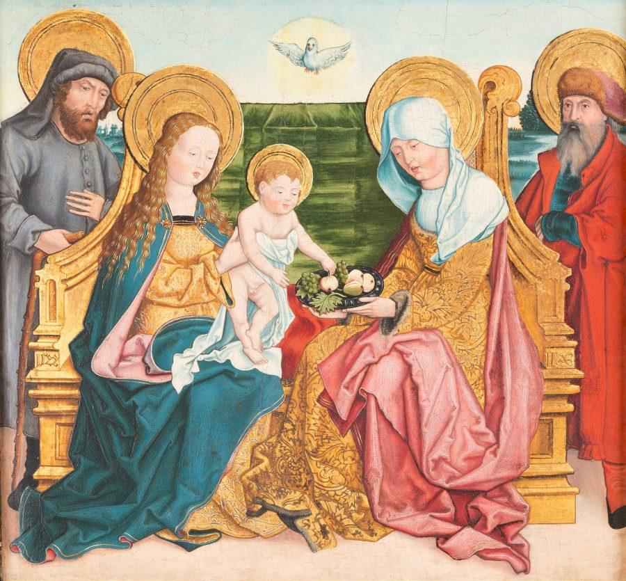 HEILIGE FAMILIE, 1522 DATIERT