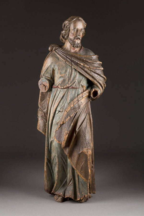 MONUMENTALE FIGUR DES APOSTELS PETRUS