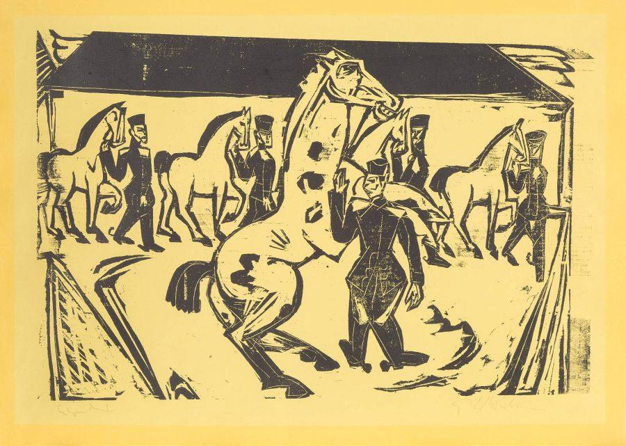 'ARTILLERIEREITPLATZ' (1915)