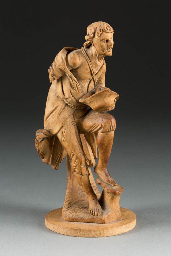 Figur eines Bettlers
