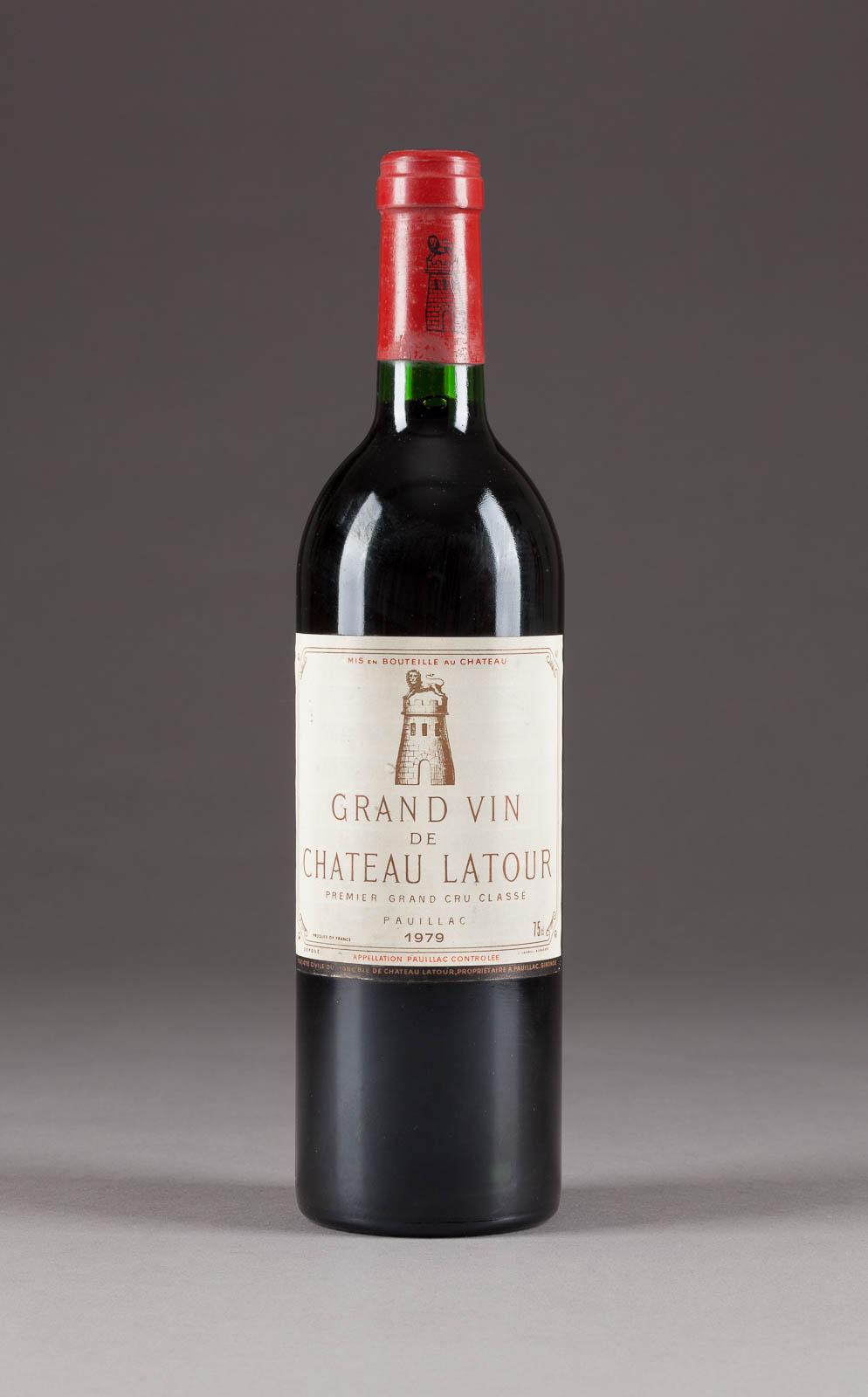 CHÂTEAU LATOUR GRAND VIN 1979 PAUILLAC