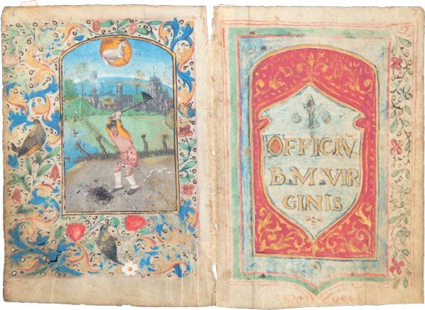 Ein Stundenbuch – Officium Beatae Mariae Virginis