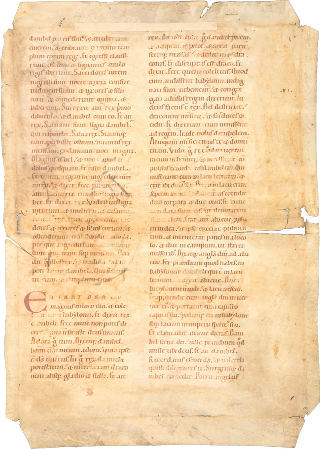 Rankeninitialen – Prophetentext (Buch Hosea)