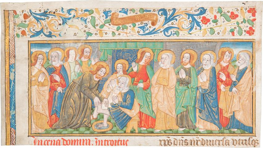 Die Fußwaschung Christi