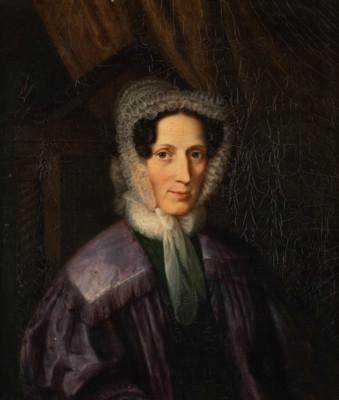 BILDNIS DER GRÄFIN HEDWIG SOPHIE VON LUCKNER, GEB. BRÖMSE (1776-1838)