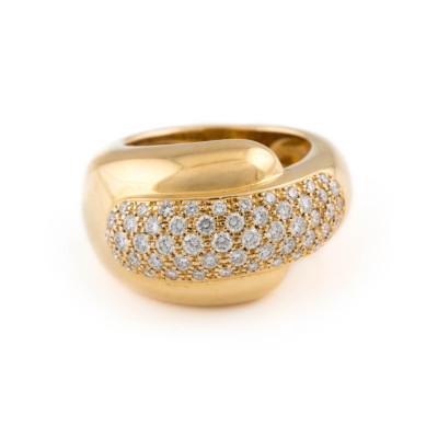 BRILLANT-RING 'CHAUMET PARIS'