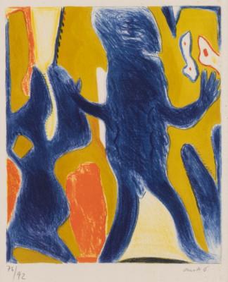 'BLAUE FIGUR' (1961/62)