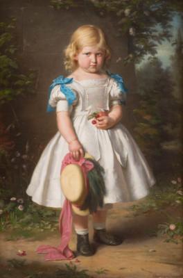 BILDNIS DER FÜNFJÄHRIGEN MARTHE EVA MARIA VON RICHTHOFEN (1864)