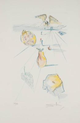 'DIE FRÜCHTE DES TALES' (AUS: 'DAS HOHE LIED DES SALOMON', 1971)
