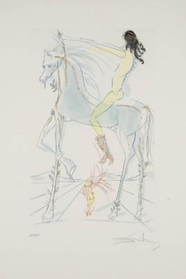 'DIE GELIEBTE IST SCHÖN WIE EINE PFERDEHERDE' (AUS: 'DAS HOHE LIED DES SALOMON', 1971)