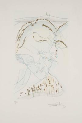 'DIE TAUBENAUGEN DER BRAUT' (AUS: 'DAS HOHE LIED DES SALOMON', 1971)
