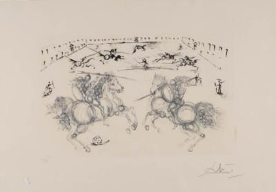 'COMBAT DE CAVALIERS' (AUS: 'CALDERÓN, LA VIE EST UN SONGE', 1971)