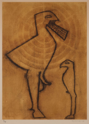 ZWEI FABELWESEN (AUS: 'JEAN GIRAUDOUX, JUDITH', 1971)