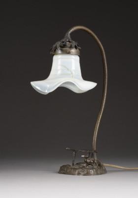JUGENDSTIL-LAMPE MIT ENTE